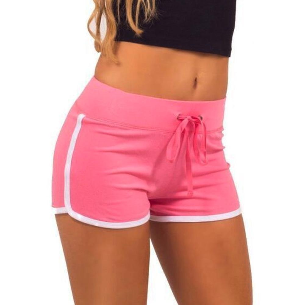 Dámská móda a doplňky - Dámské sportovní kraťasy Fitness - růžové ... b8a9d56226