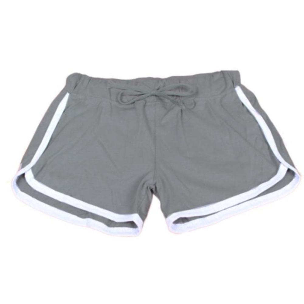 ... Dámská móda a doplňky - Dámské sportovní kraťasy Fitness - šedé 26f7087180
