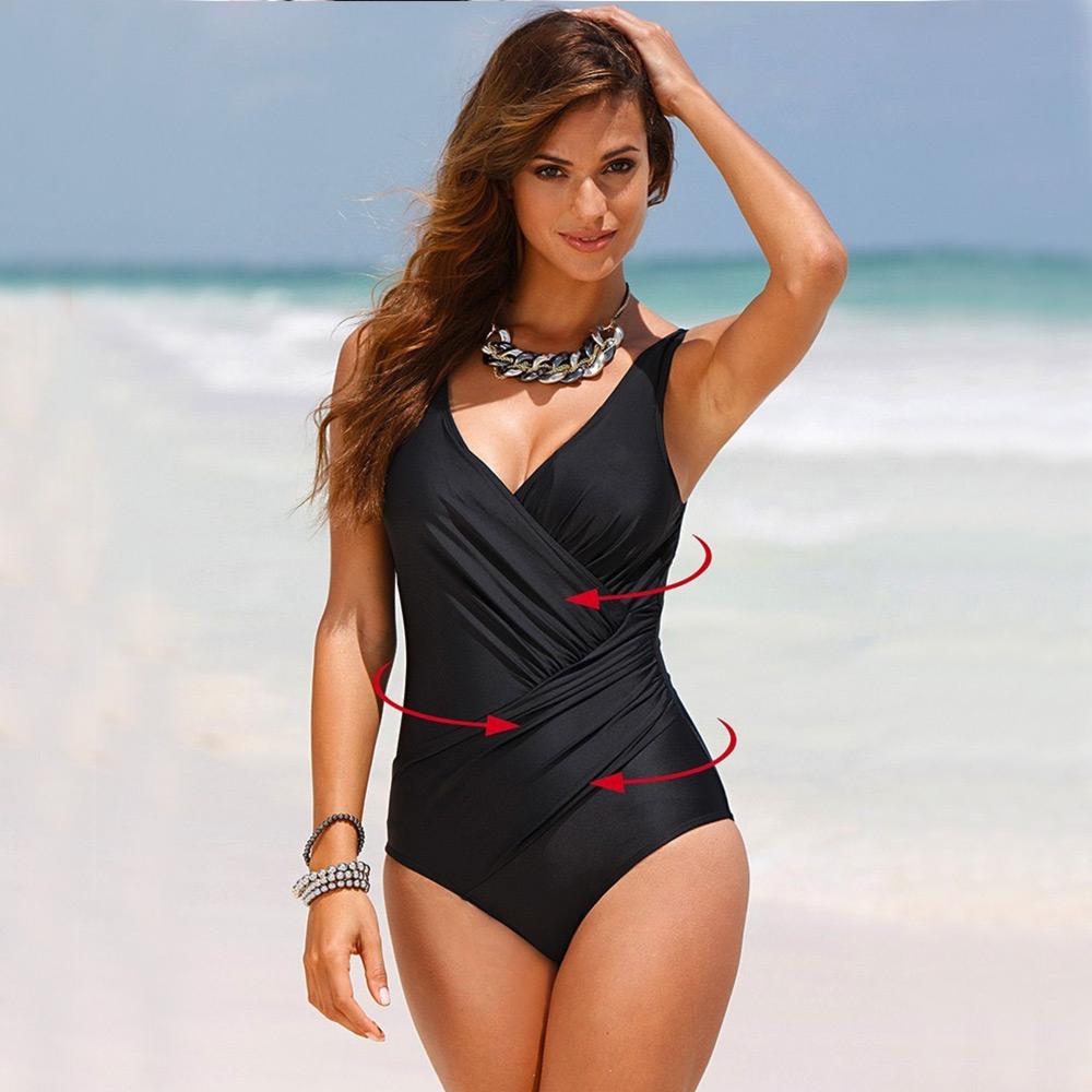 Dámská móda a doplňky - Dámské jednodílné plavky Fit   Slim ... e9acea4303