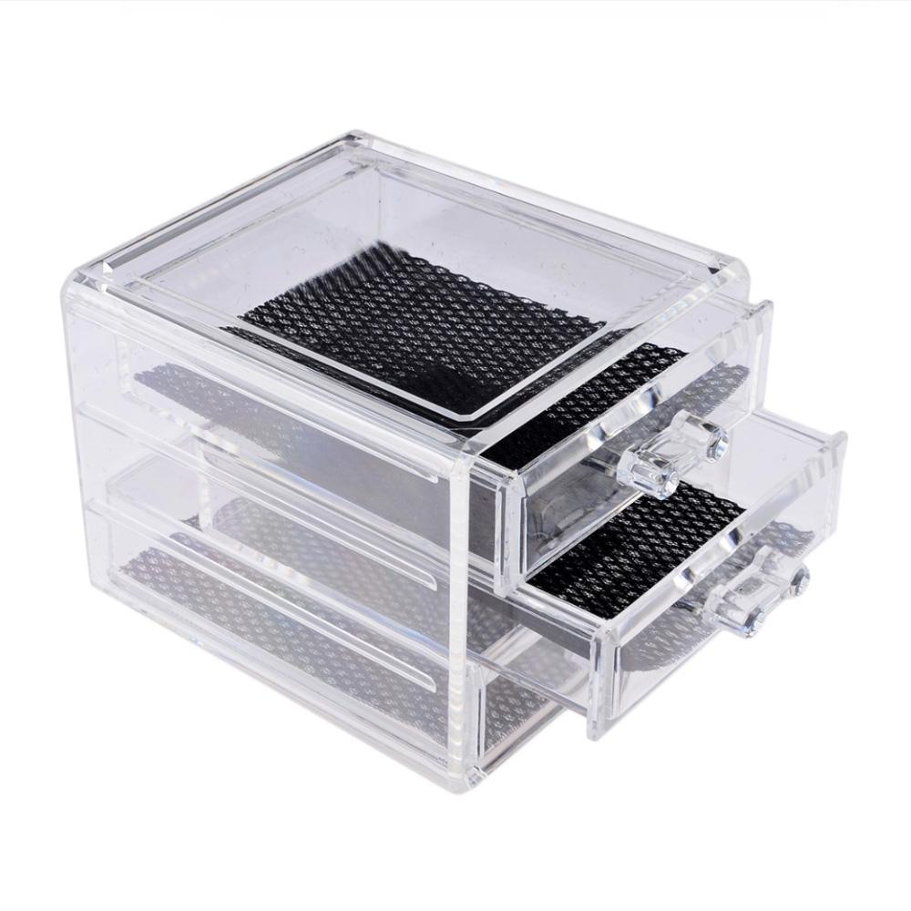 V&V Plastový kosmetický organizér - 3 zásuvky