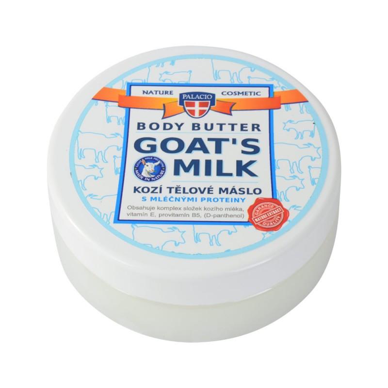 Palacio Kozí mléko tělové máslo, 200 ml