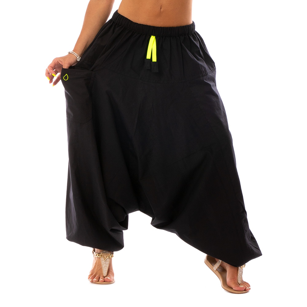 Bumginy Harémové kalhoty Ellie - růžové zavazování 7baae9ae6e