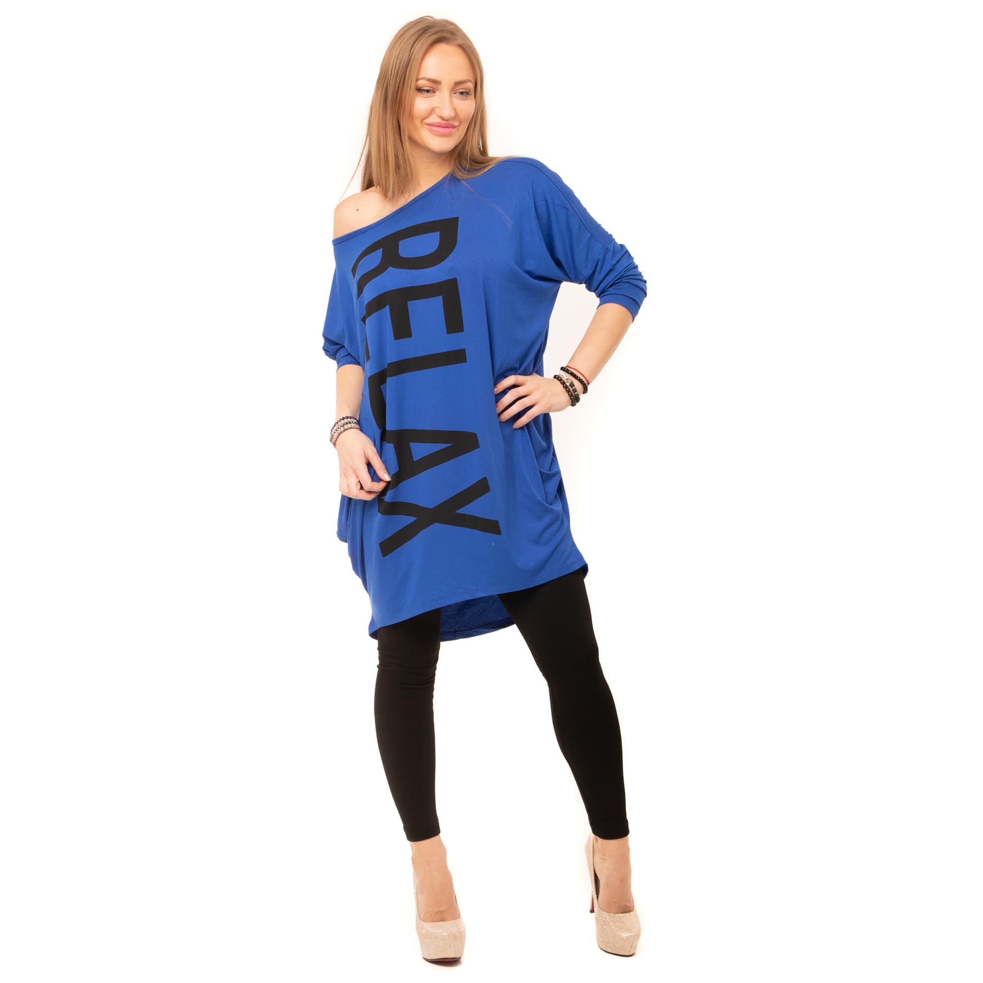 b631b49b06d ... Dámská móda a doplňky - Tunika Relax - modrá