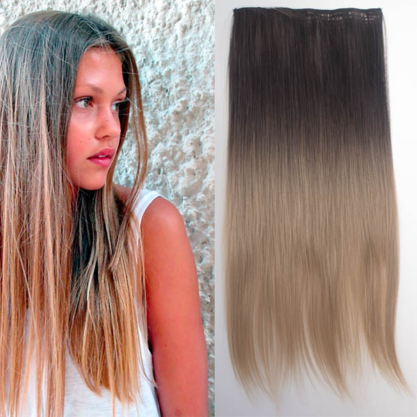 Světové zboží Clip in vlasy - rovný pás - ombre - odstín 2 T 16 - odstín 2 T 16