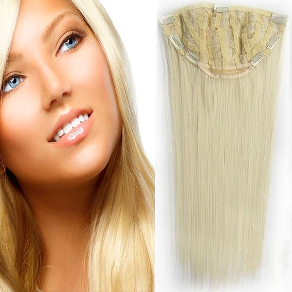 Clip in pás - Jessica 65 cm rovný - 613 - blond - 613 (beach blond)