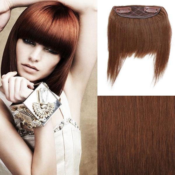 Clip in ofina – REMY 100% lidské vlasy - odstín 6
