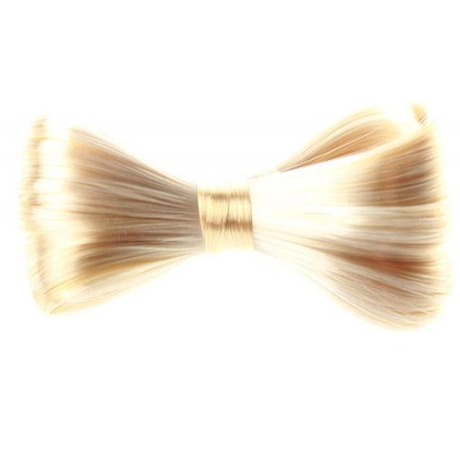 Elegantní spona do vlasů s vlasovou mašlí - 613 (beach blond)