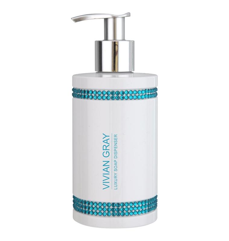 Tekuté mýdlo VIVIAN GRAY CRYSTALS Soap gel 250ml BLUE