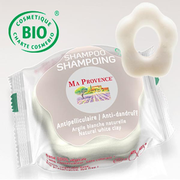 Tuhý šampon Bio Ma Provence proti lupům, 85 g