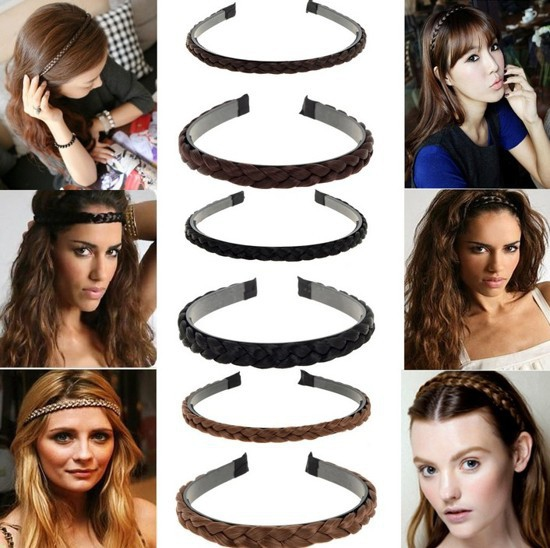 Prodlužování vlasů a účesy - Čelenka do vlasů - pletené vlasy ... df396ff8c9