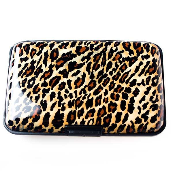 Pouzdro na doklady a peněženka Aluma Wallet - gepard