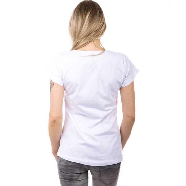 V&V Bílé tričko s motivem dreamers - XL