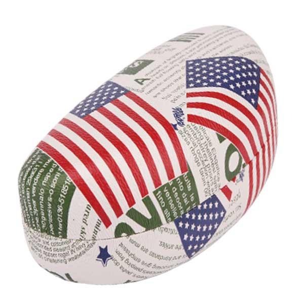 Pouzdro na brýle AMERIKA - výběr barev - bílé se zeleným popisem