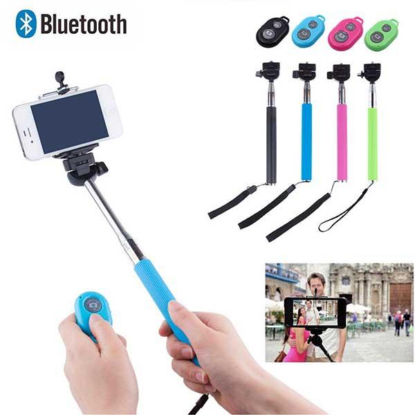 V&V Teleskopická selfie tyč s bluetooth ovládáním