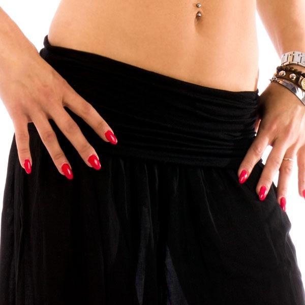... Dámská móda a doplňky - Harémové kalhoty Shakira - černá barva aa8c41b0fe