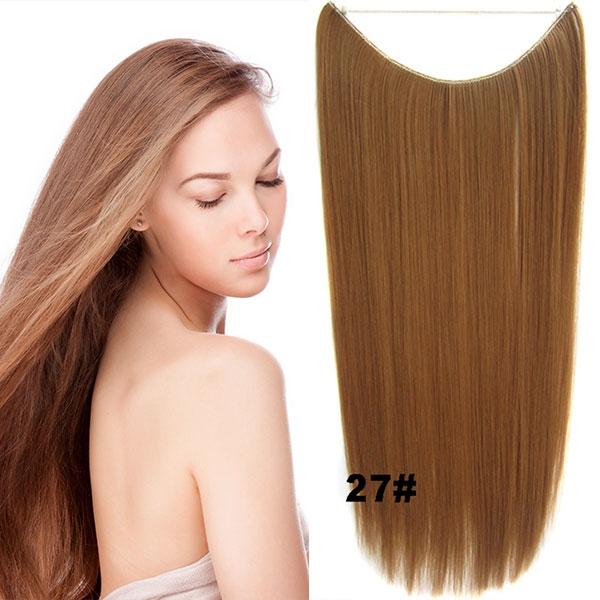 Flip in vlasy - 55 cm dlouhý pás vlasů - odstín 27