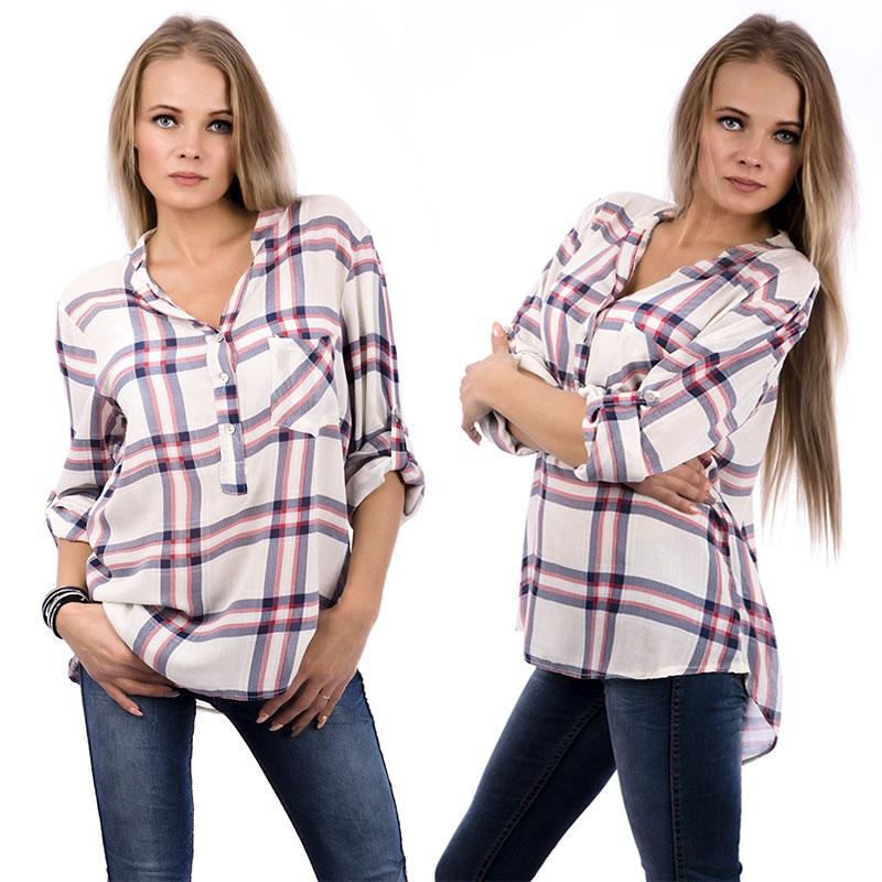 Dámská móda a doplňky - Dámská košile Western Style ... f2d0e0f234