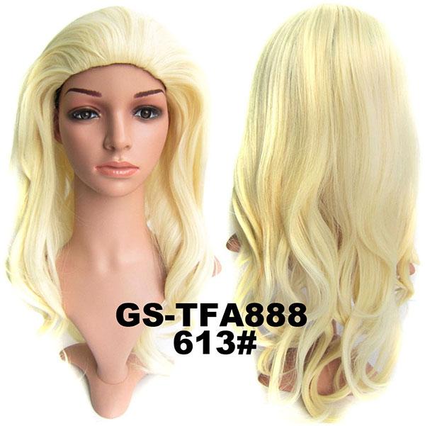 Poloparuka - 3/4 paruka zvlněná TFA - 613 (beach blond)