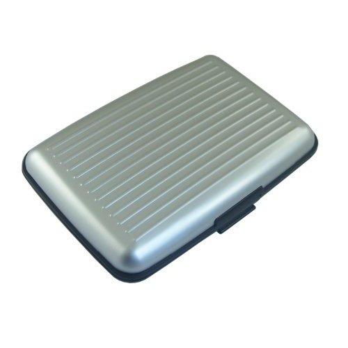 Pouzdro na doklady a peněženka Aluma Wallet - stříbrná barva