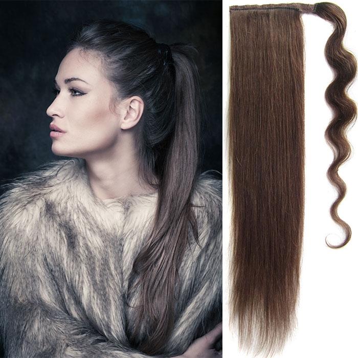 Culík, cop pravé lidské vlasy REMY, 51 cm - odstín 2