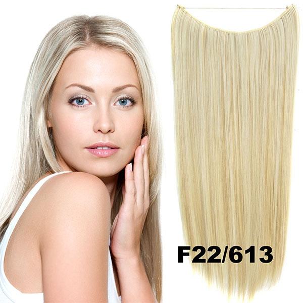 Flip in vlasy - 55 cm dlouhý pás vlasů - odstín F22/613