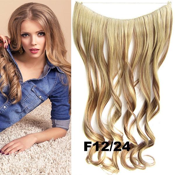 Flip in vlasy - vlnitý pás vlasů - odstín F12/24