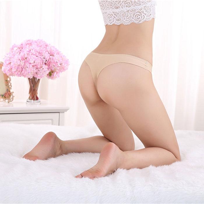 V&V Dámské kalhotky - tanga - laserové - tělové
