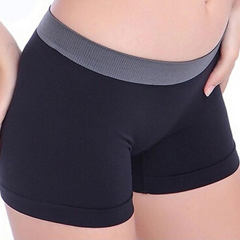 Dámské sportovní fitness kalhotky - černá barva