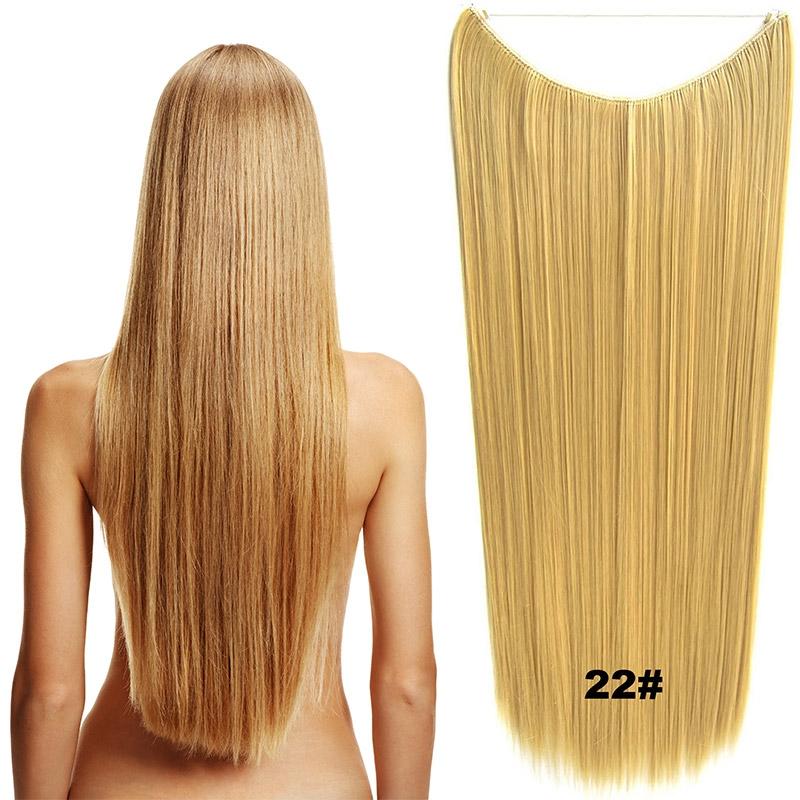 Flip in vlasy - 60 cm dlouhý pás vlasů - odstín 22
