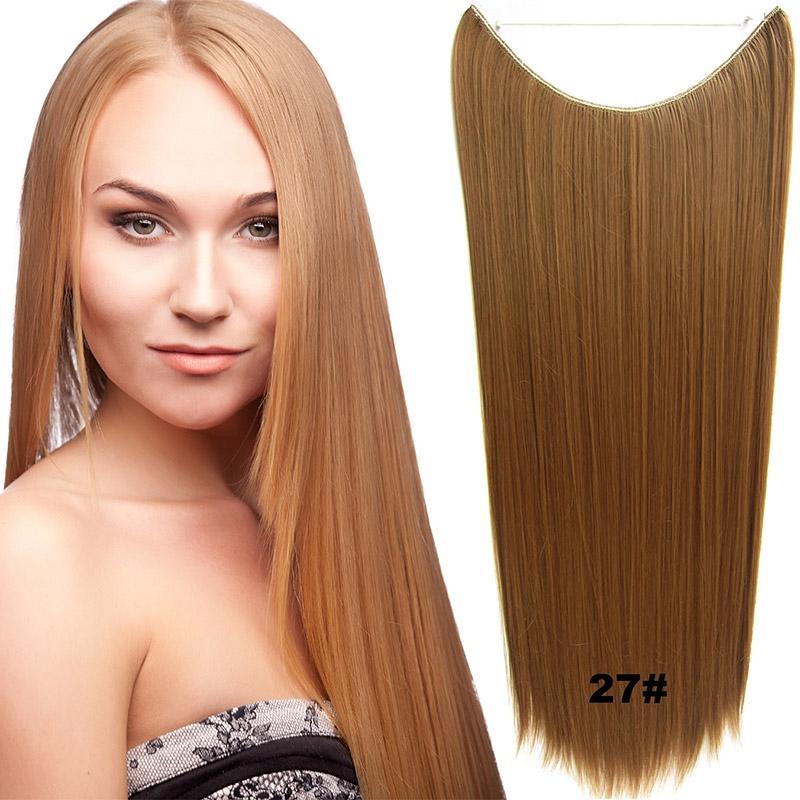 Flip in vlasy - 60 cm dlouhý pás vlasů - odstín 27