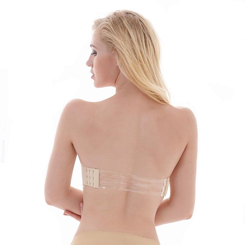 Korzetová podprsenka Invisible Bra - tělová - velikost C