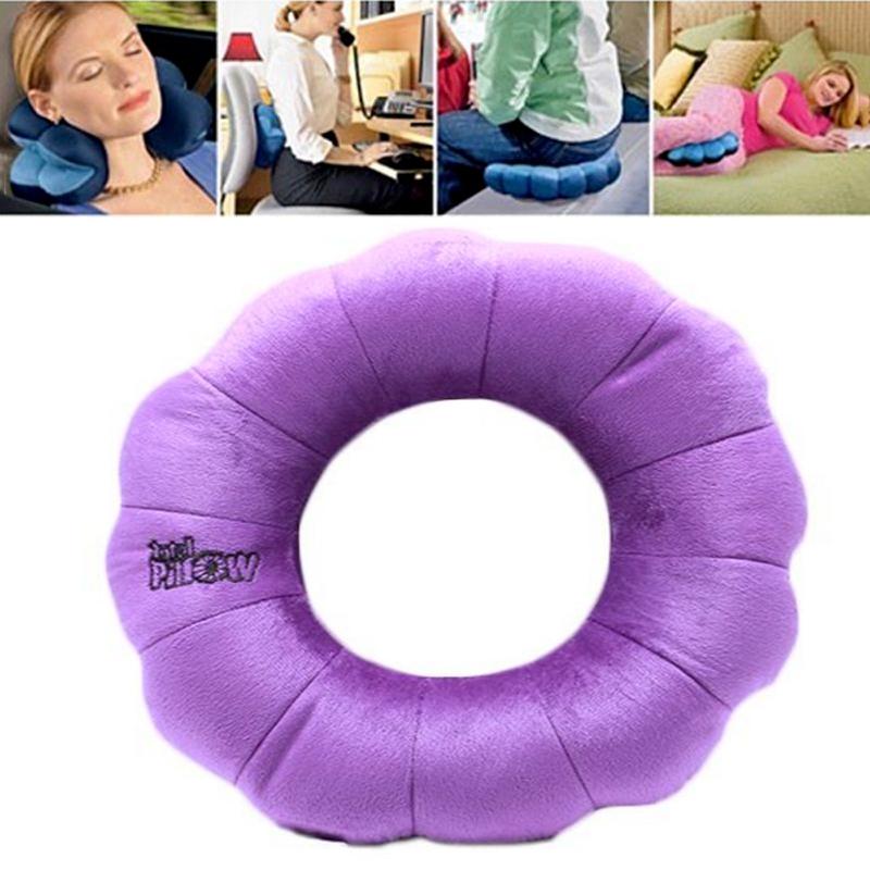 Total Pillow Multifunkční polštář Total Pillow (fialová barva) 33cm