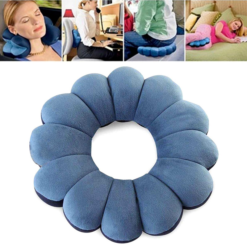 Multifunkční polštář Total Pillow - modrá barva