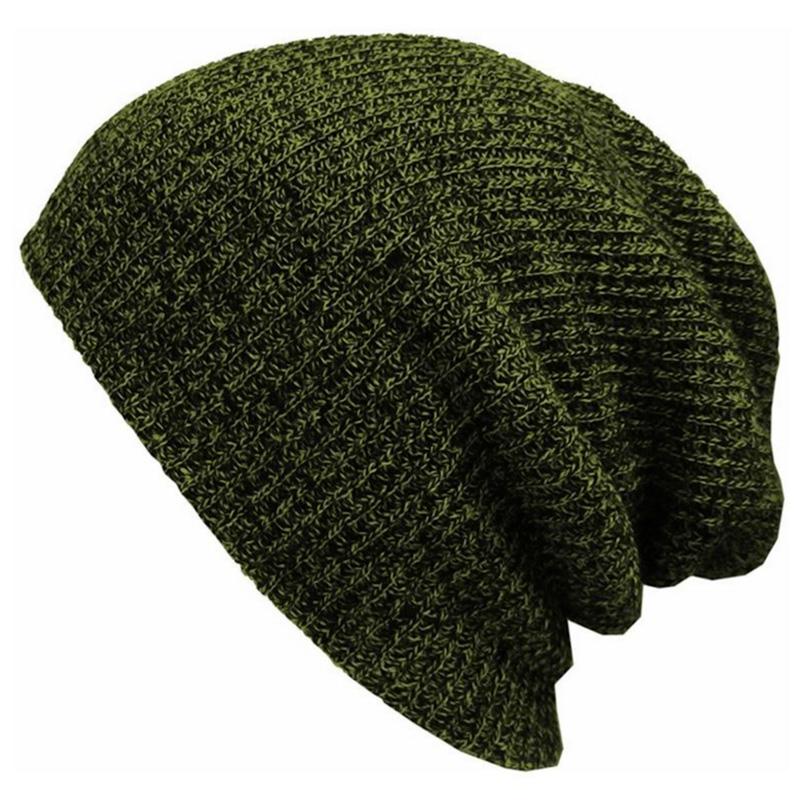 Čepice Hip Hop Homeless - zimní - armádní zelená