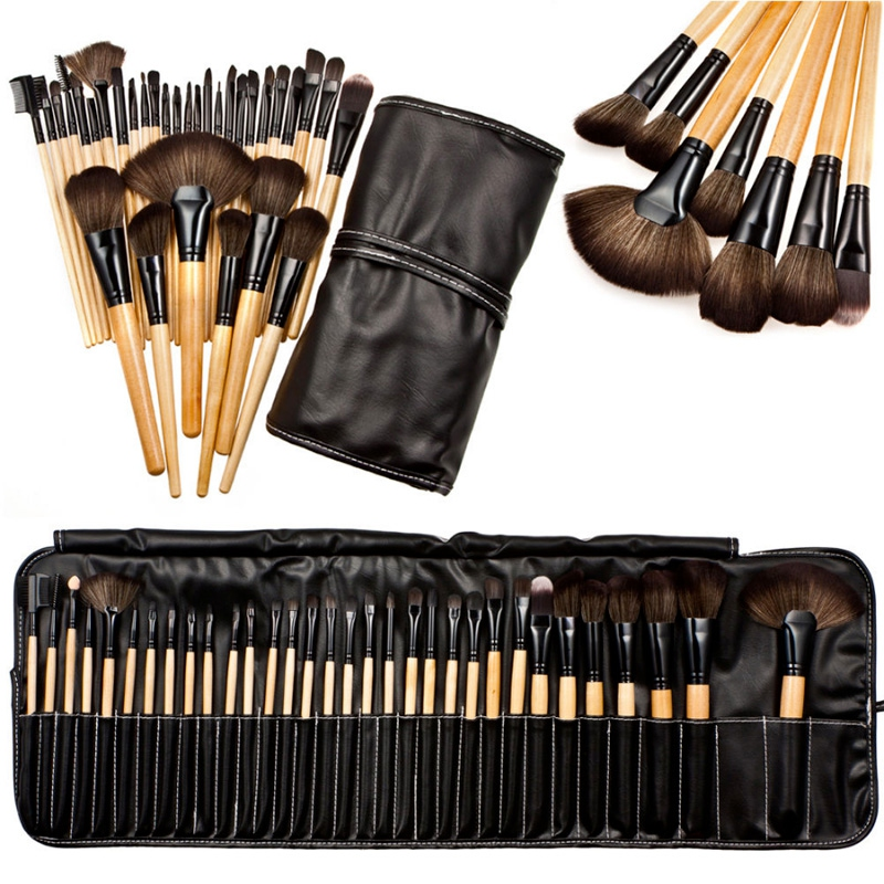 Profesionální sada kosmetických štětců - 32 kusů