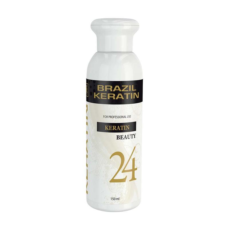 V&V Brazilský keratin Beauty 24 h ARGAN - profesionální použití 150 ml