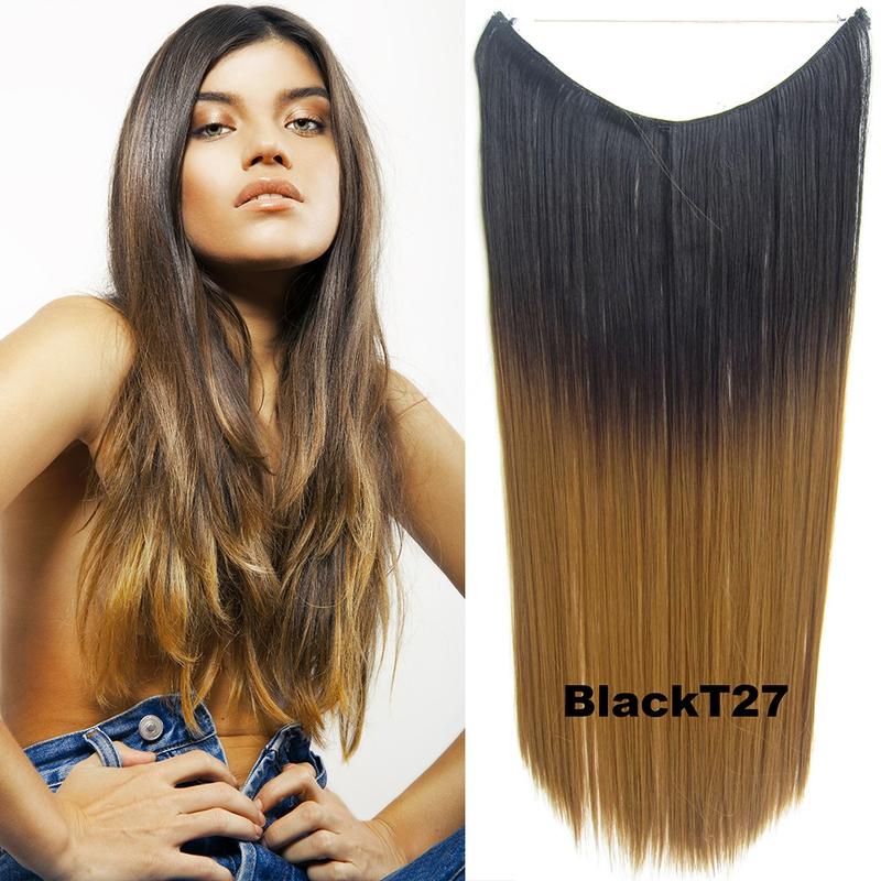 Prodlužování vlasů a účesy - Flip in vlasy - 55 cm dlouhý pás vlasů - odstín 93f525fe0a