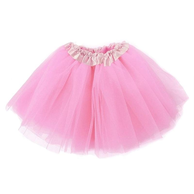 Dámská tylová tutu sukně - světle růžová barva
