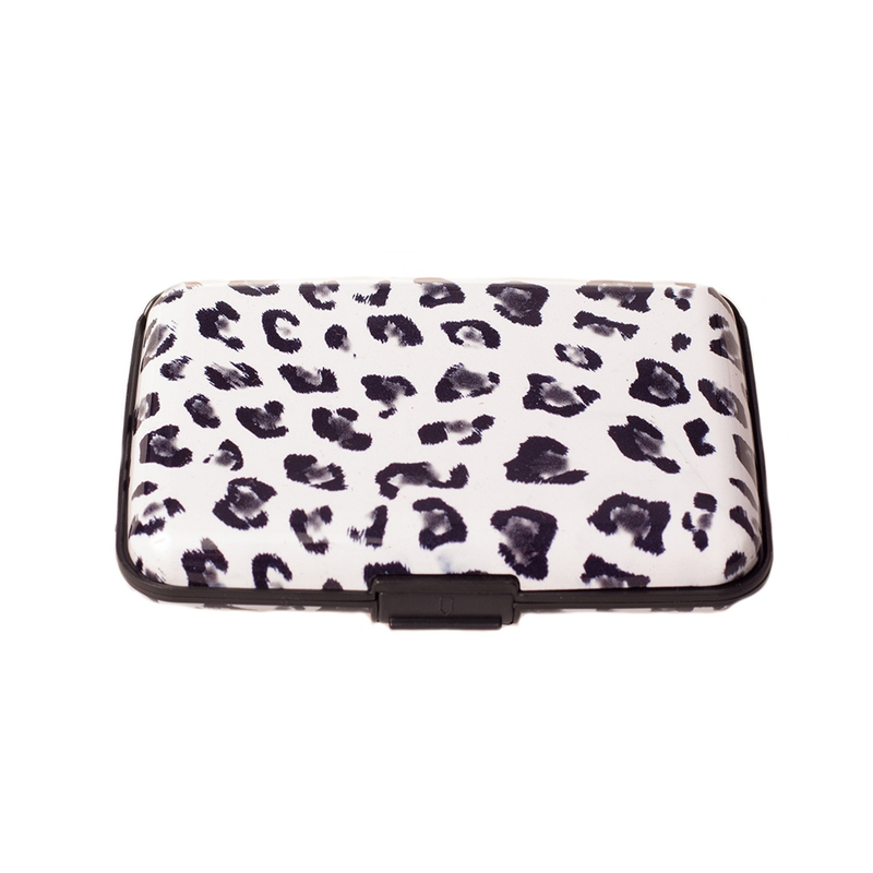 Pouzdro na doklady a peněženka Aluma Wallet - bílá žirafa