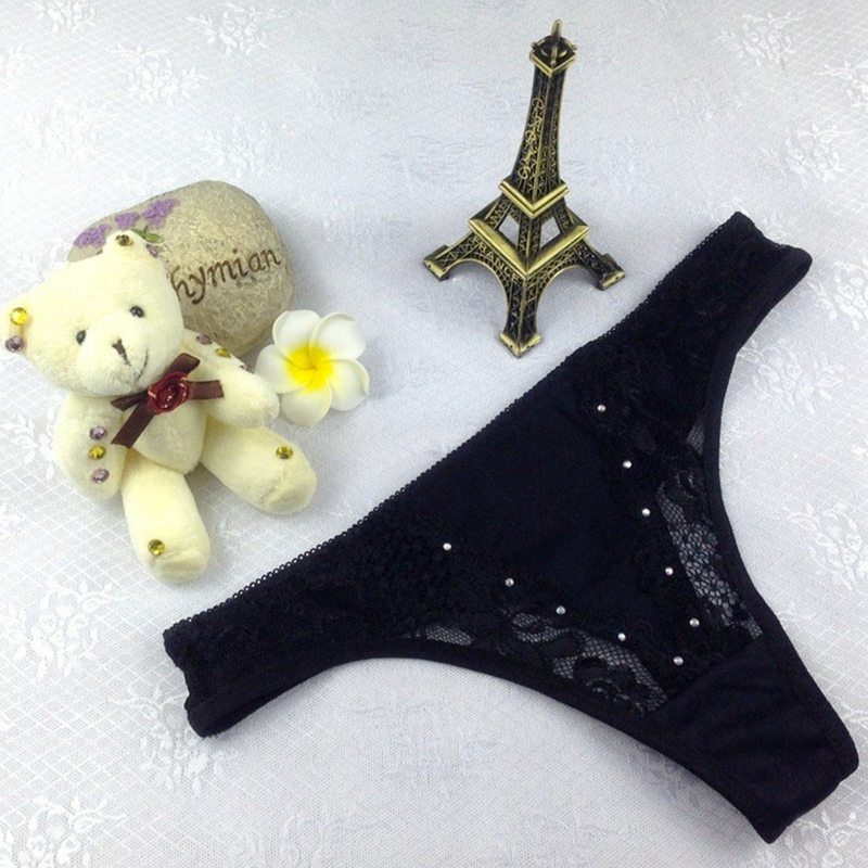 Dámské kalhotky Debie - černá barva