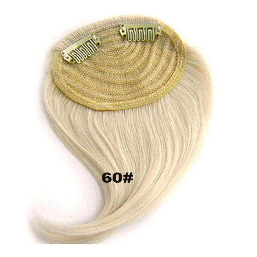 Světové zboží Clip in ofina na stranu - patka - 60 (ledová blond)
