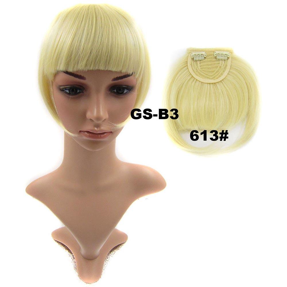 Světové zboží Clip in ofina rovná - 613 (beach blond)