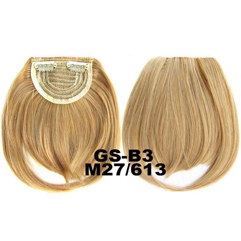 Světové zboží Clip in ofina rovná - M27/613 (mix karamelová/beach blond)