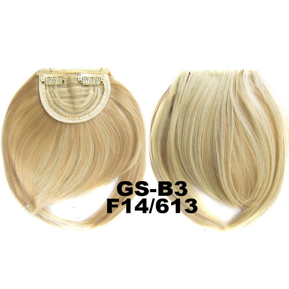 Clip in ofina rovná - výběr odstínů (F14/613 (melír chladně plavá v beach blond)) - Světové Zboží