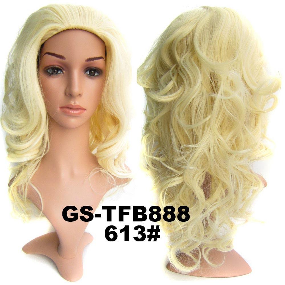Poloparuka - 3/4 paruka vlnitá TFB - 613 (beach blond)