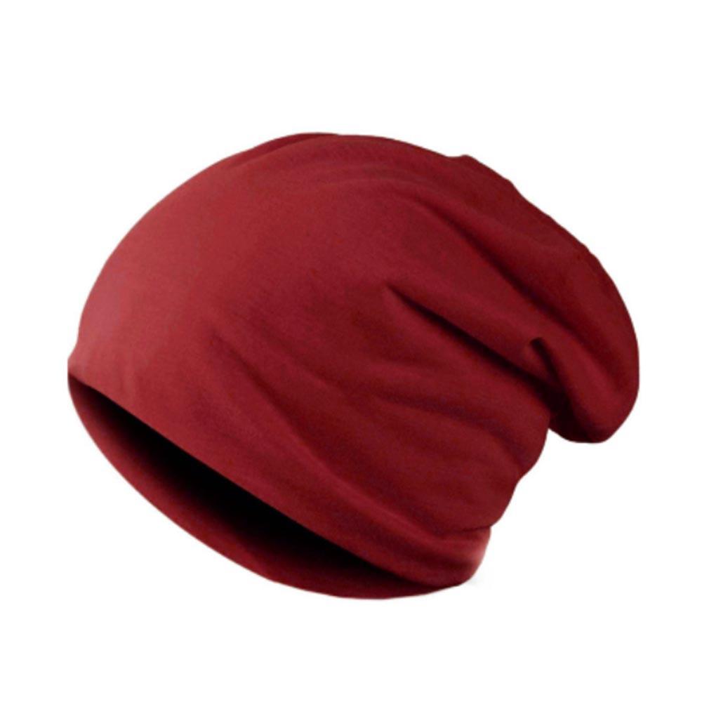 Čepice hip - hop homeless - unisex - výběr barev - červená