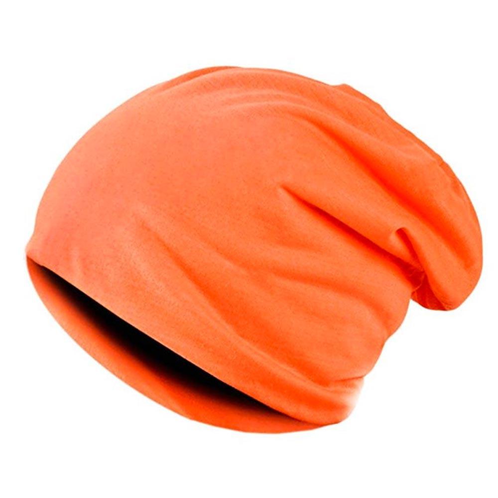 Čepice hip - hop homeless - unisex - výběr barev - oranžová