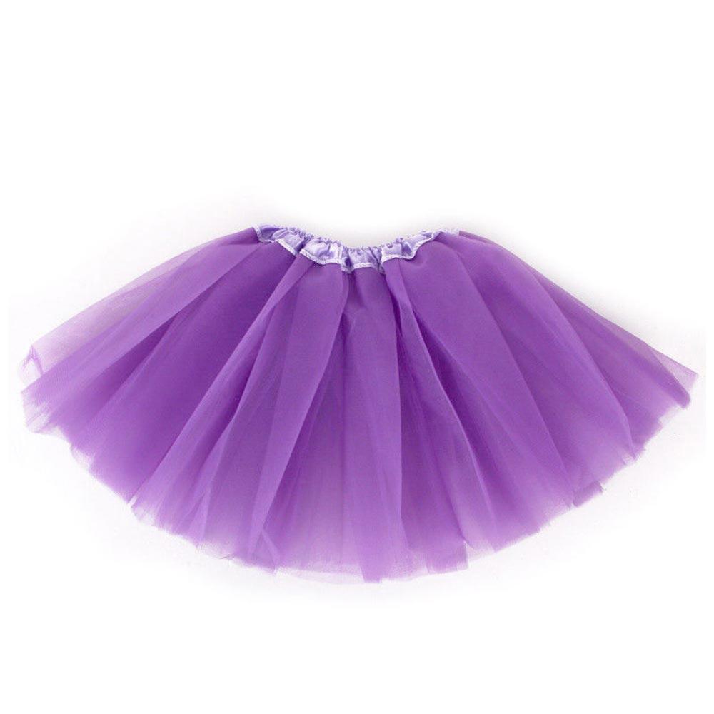 Dámská tylová tutu sukně - fialová barva