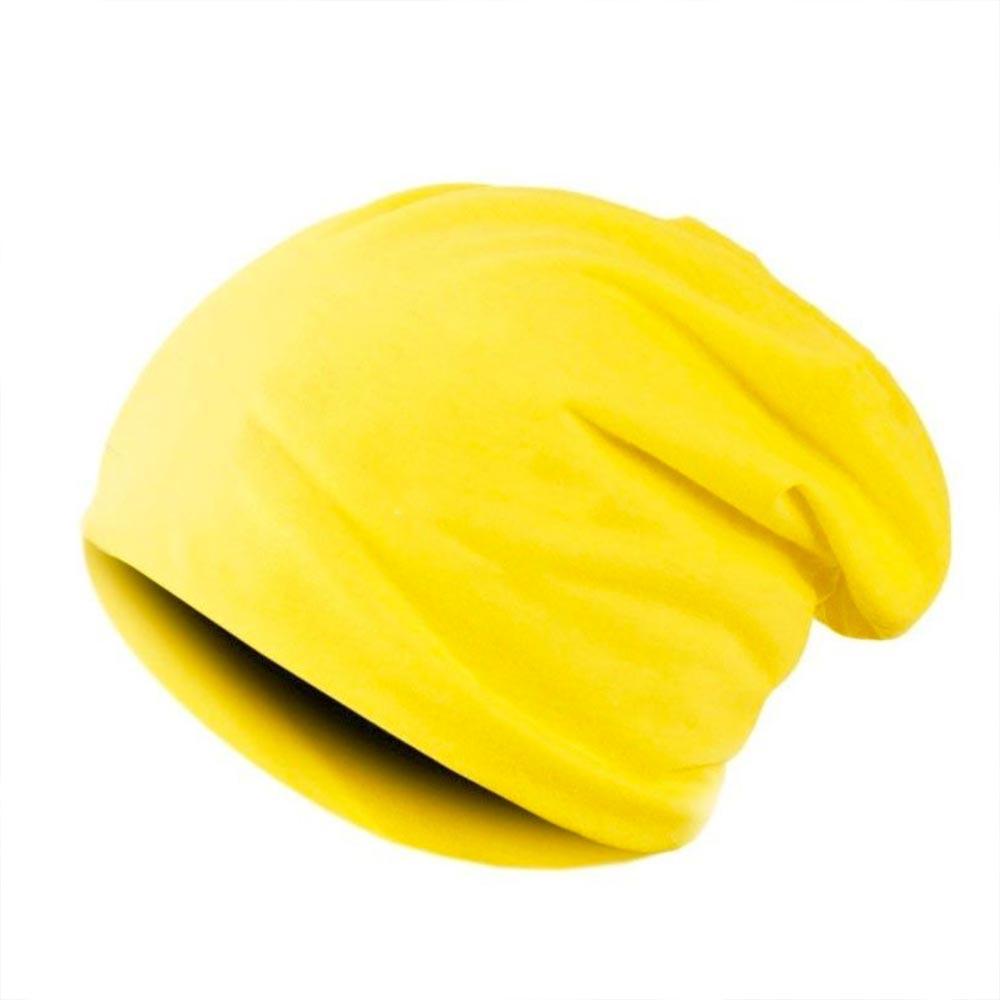 V&V Čepice hip - hop homeless - unisex - výběr barev - žlutá barva