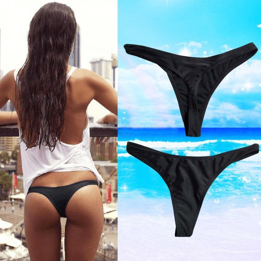 V&V Dámské plavky - mini tanga - spodní díl - L
